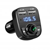 Bluetooth Handsfree Fm Transmitter Car Kit